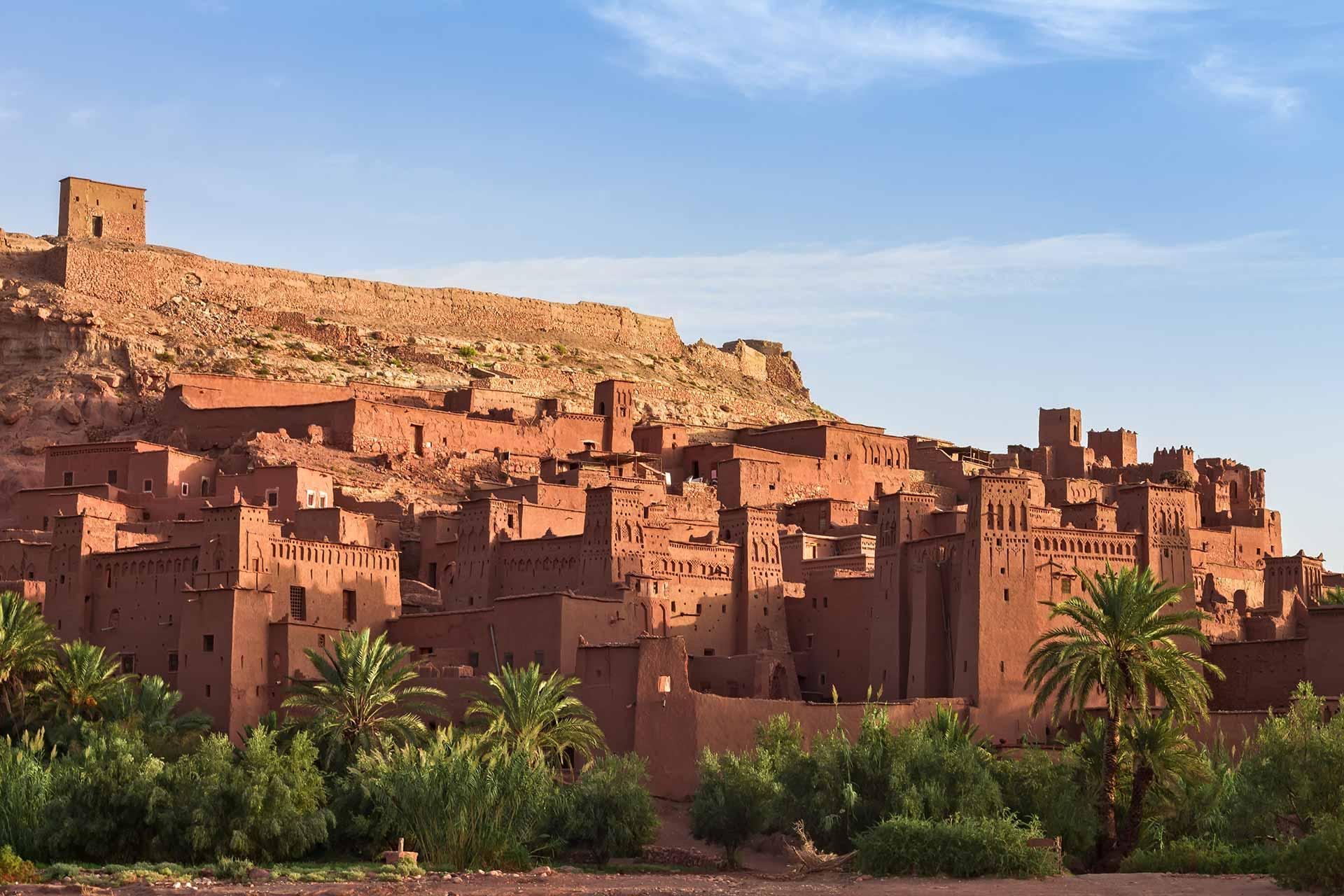 Les prémices du sud marocain